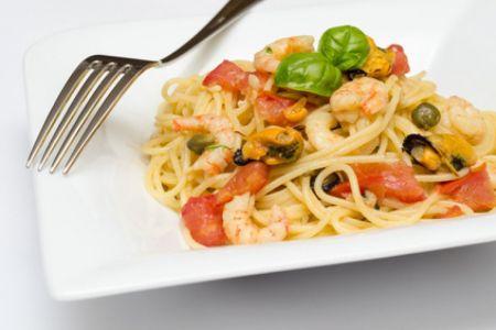Meeresfrüchtespaghetti