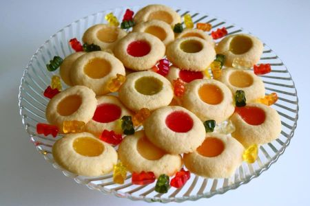 Gummibärchen-Kekse