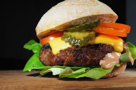 Klassischer Hamburger