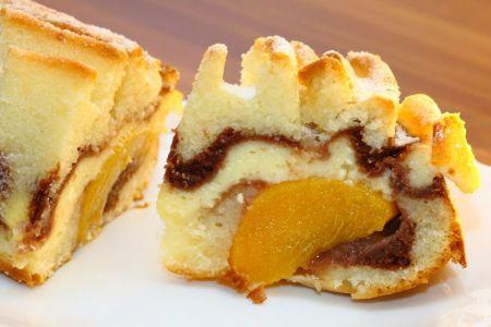 Pfirsich-Marmorkuchen