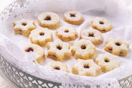 Linzer Augen-Kekse