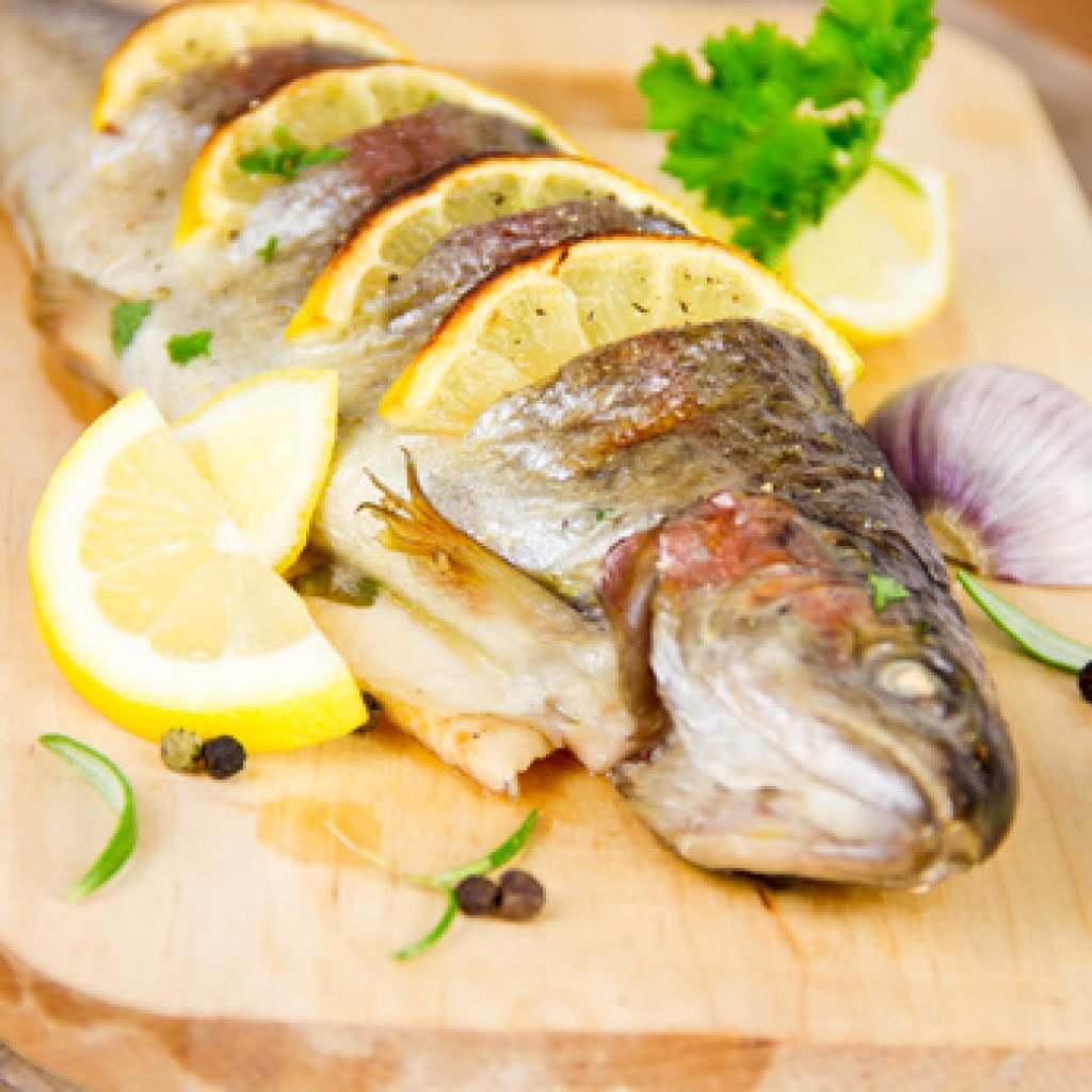 Gegrillte forelle mit kartoffel creme rezept for Great fish recipes