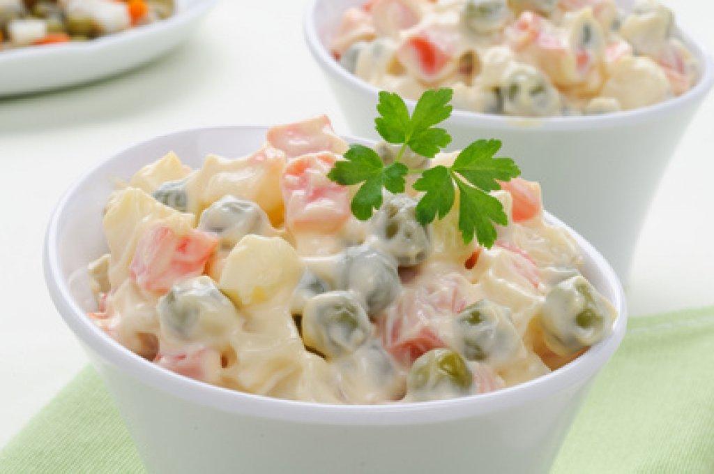Mayonnaisesalat Rezept Kochrezepteat