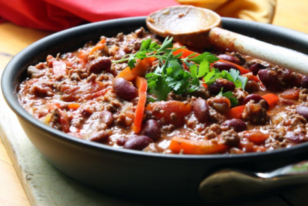 mexikanisches chili con carne rezept. Black Bedroom Furniture Sets. Home Design Ideas