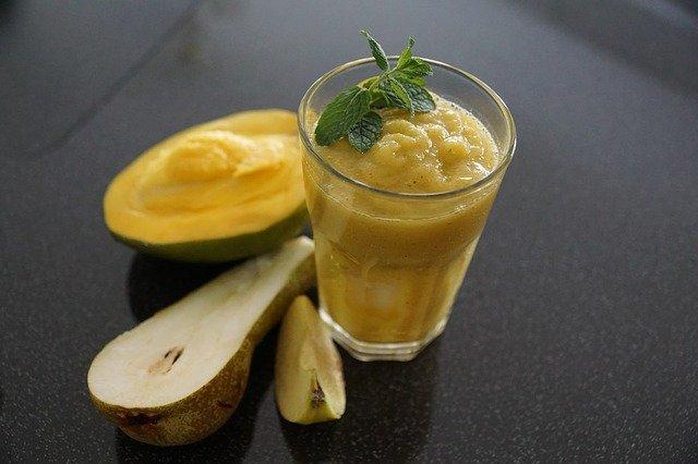 apfel birnen mango smoothie rezept. Black Bedroom Furniture Sets. Home Design Ideas