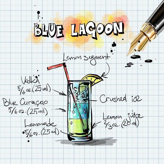 Blue lagoon cocktail rezept  Blue Lagoon Cocktail - Rezept | Kochrezepte.at