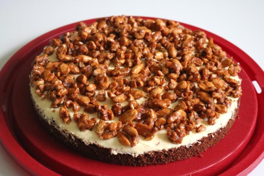 Gebrannte Mandeln Torte Rezept Kochrezepte At