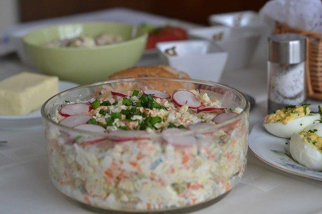 Gemüse Mayonnaise Salat Rezept Kochrezepteat