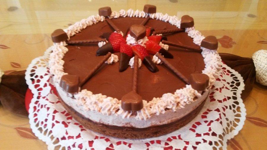 Erdbeer Nutella Torte Rezept Kochrezepte At