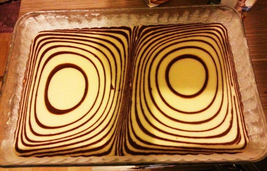 Saftiger Zebrakuchen Rezept Kochrezepte At
