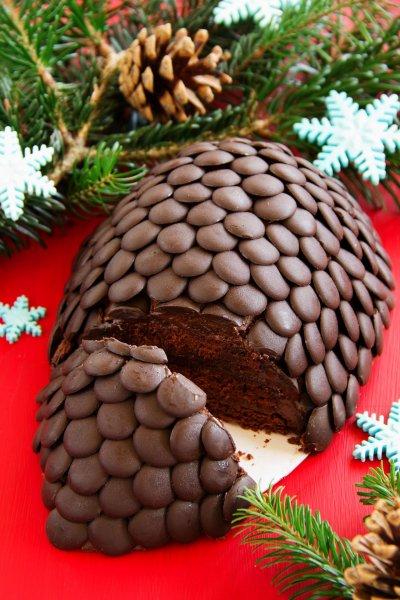 Chocolate Buttercream Cake Designs