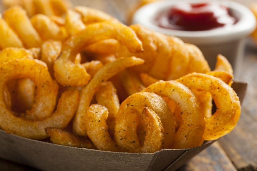 Curly Fries Aus Der Eigenen K 252 Che Rezept Kochrezepte At