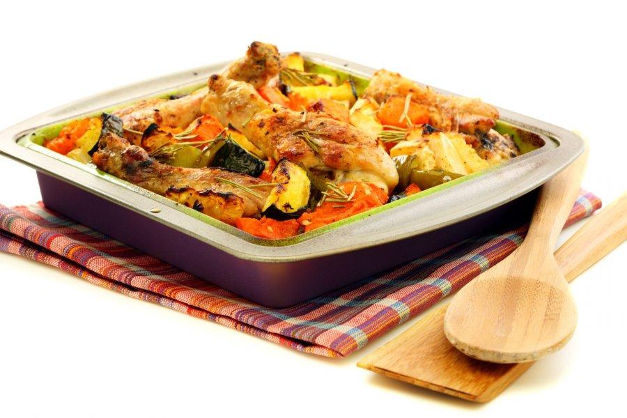 Hühnchen Mit Kürbis Und Zucchini Rezept Kochrezepteat