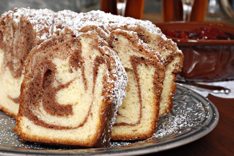 Zimt Wirbel Kaffee Kuchen