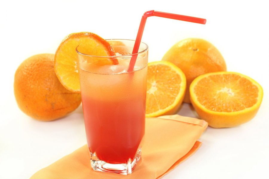 Campari And Orange Cocktails Recipe — Dishmaps
