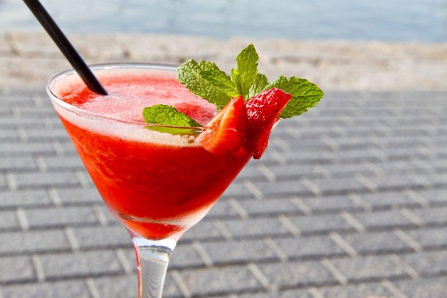 erdbeer minze daiquiri rezept kochrezepte at