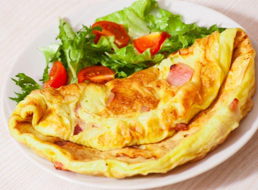 Rezept Für Omelett omelette mit schinken und käse rezept kochrezepte at