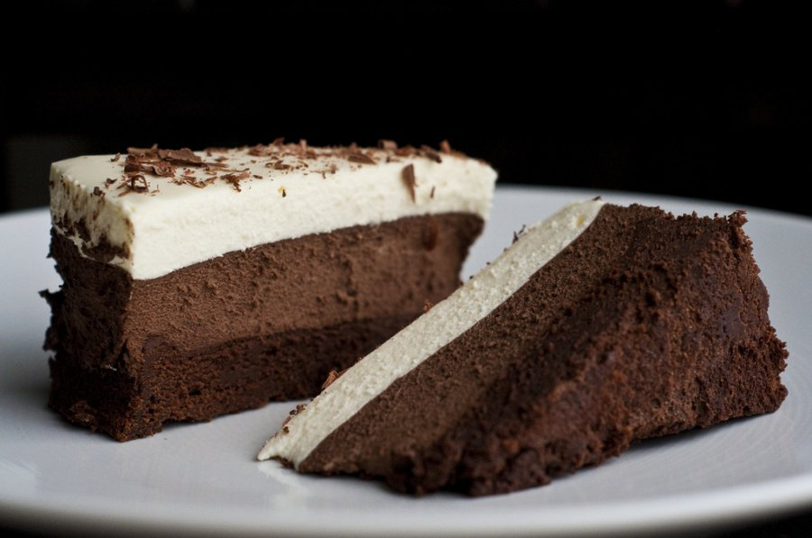 Triple Chocolate Mousse Cake Recipe Easy