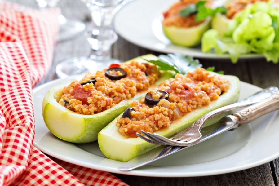 Rezept fur gefullte zucchini vegan